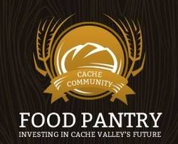 Cache Community Food Pantry Logo Black