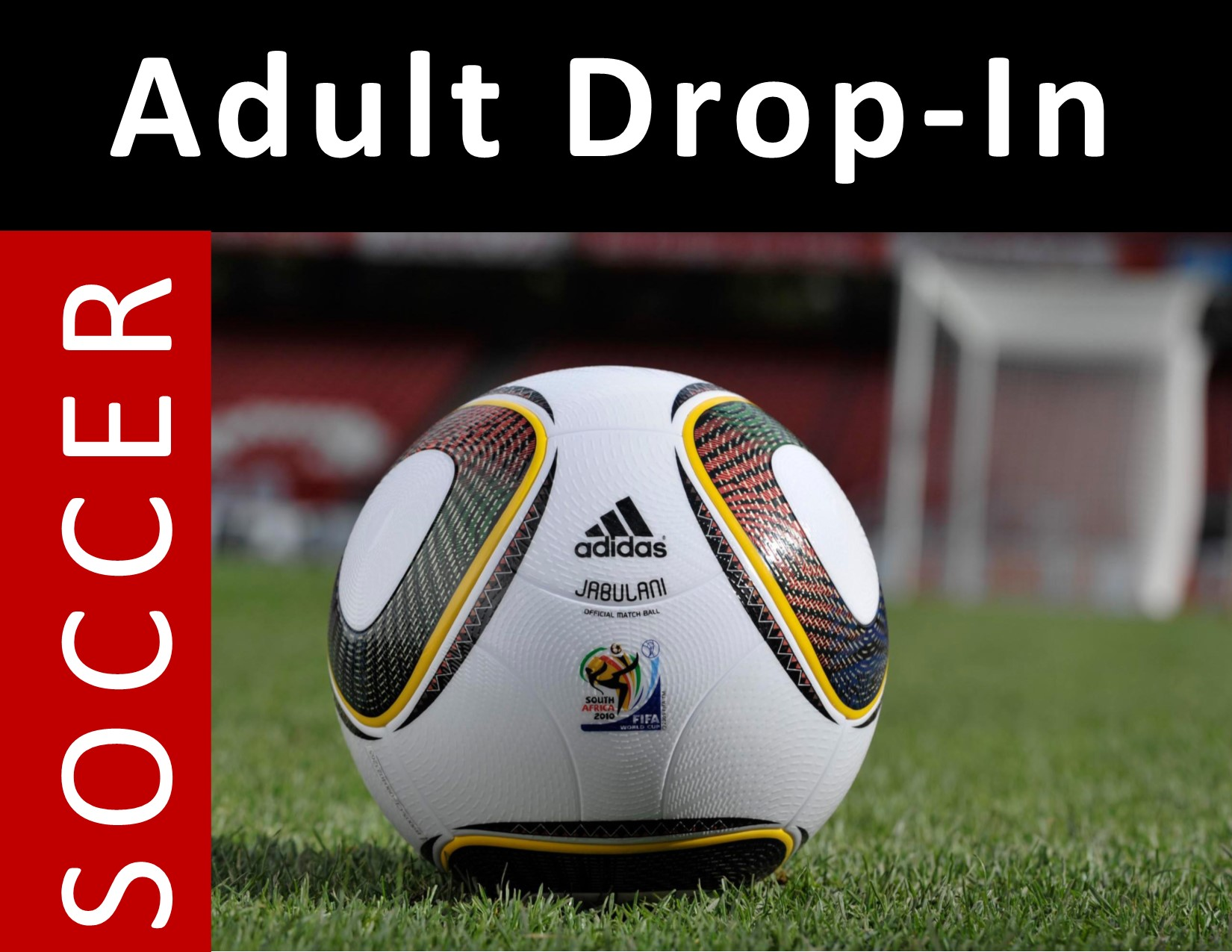 Drop in Soccer Icon