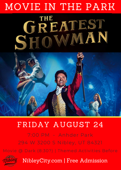 Greatest Showman Movie Night