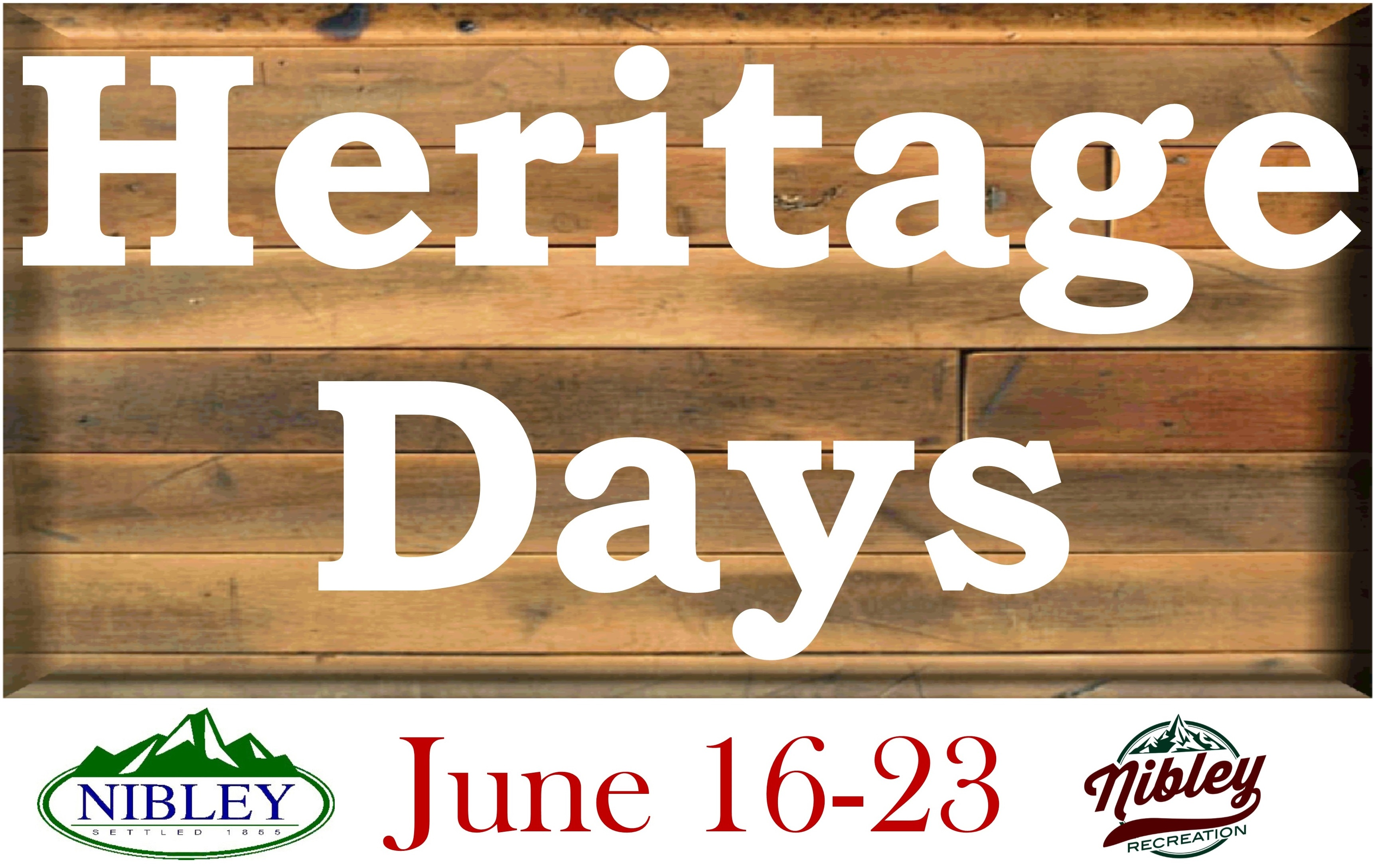 Heritage Days Save the Date 2018