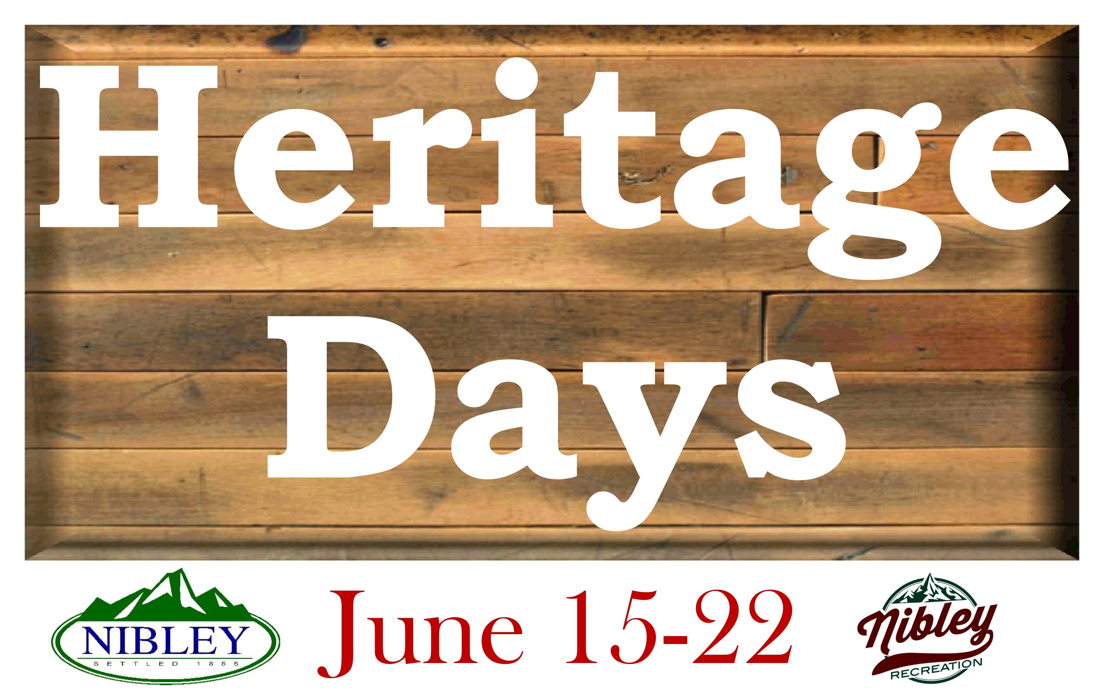 Heritage Days Save the Date 2019