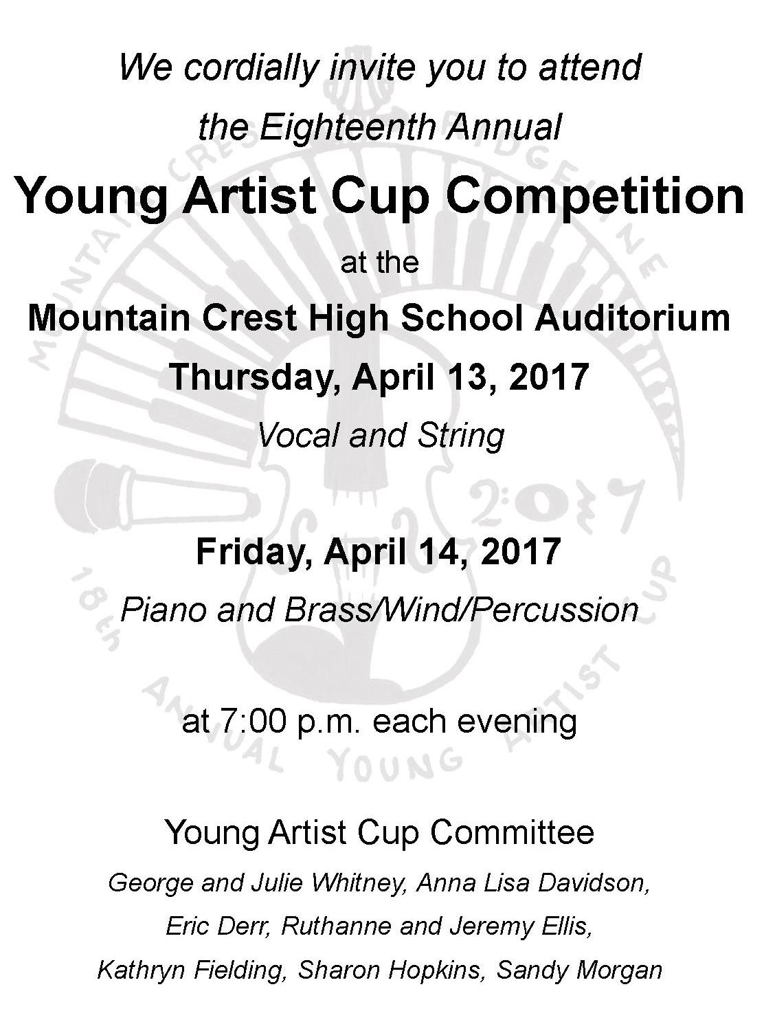 Young Artists Cup