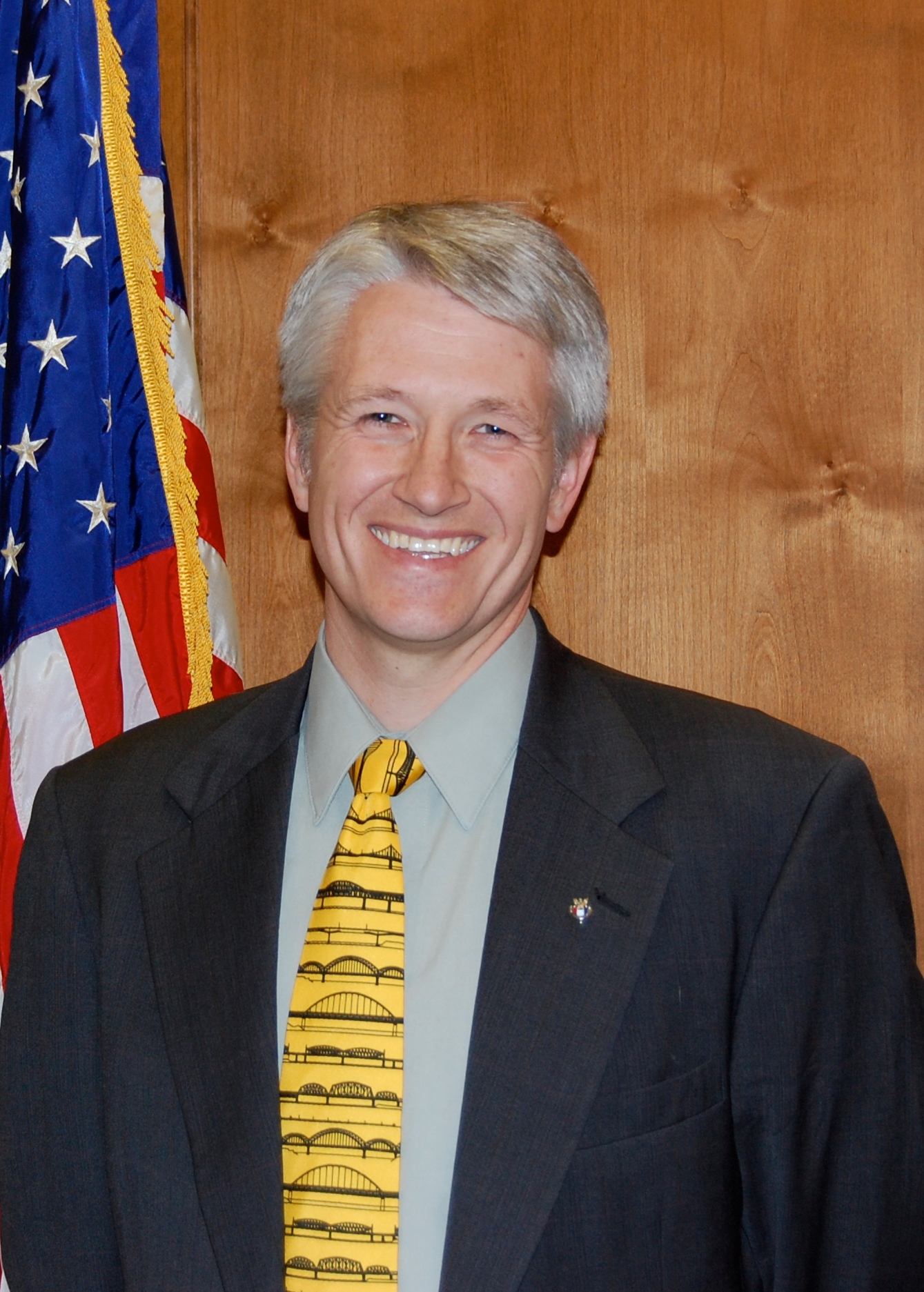 Mayor Shaun Dustin - cropped